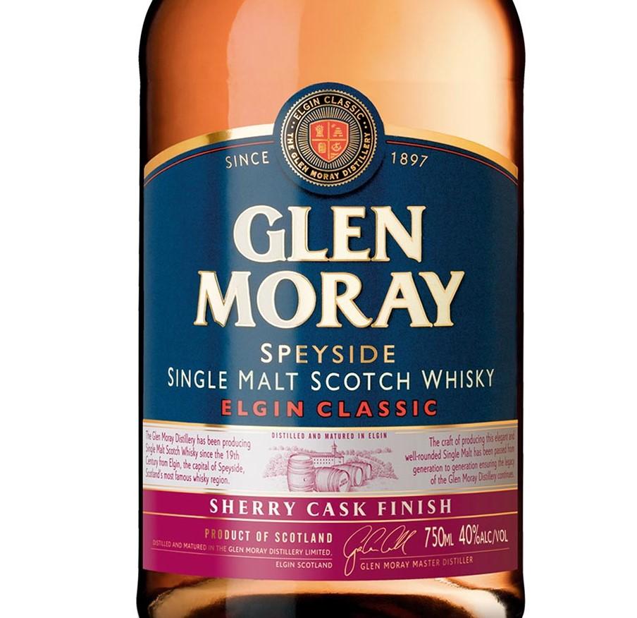 Glen Moray Adds New Classic Sherry Cask Finish