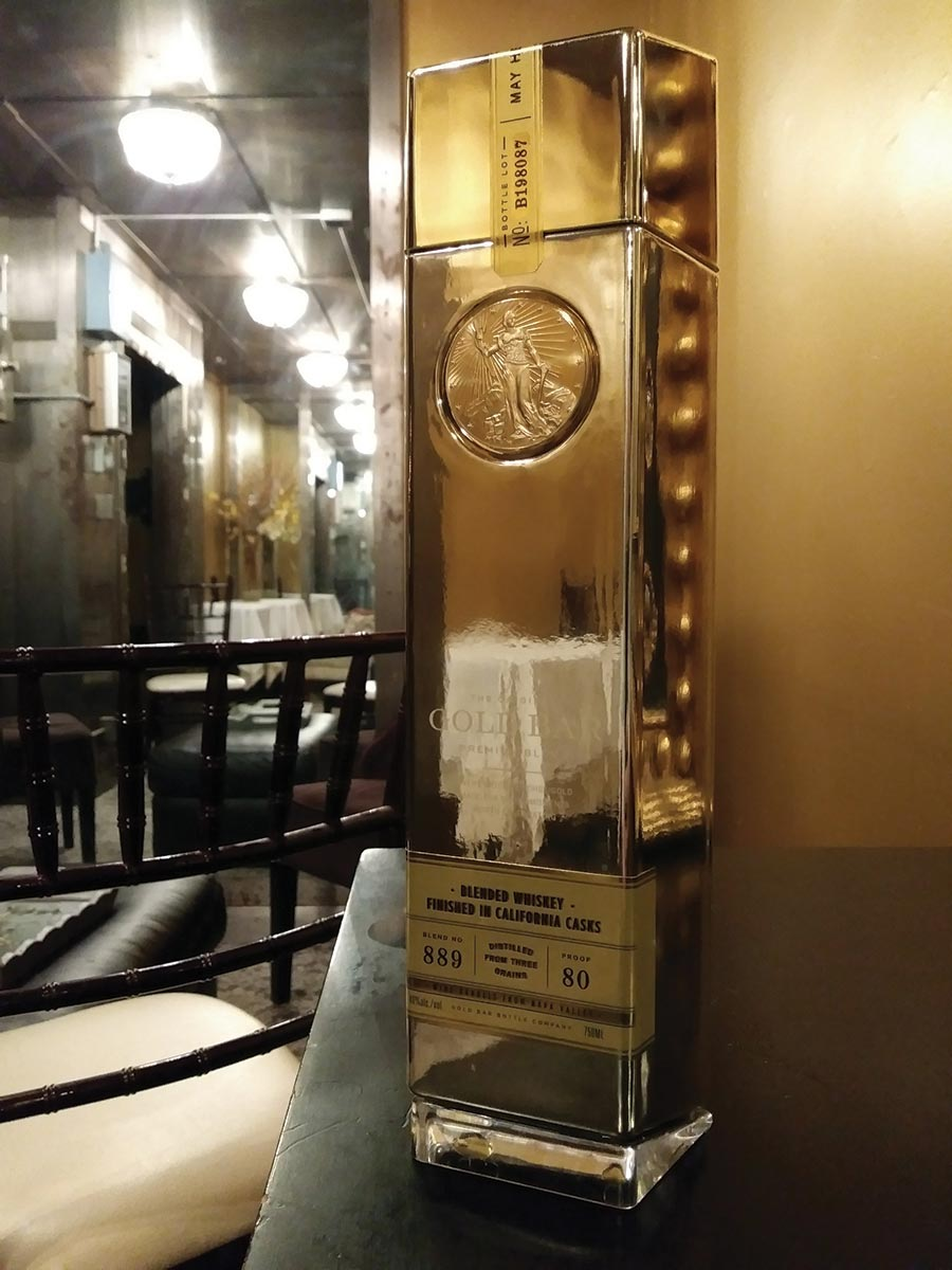 Gold Bar Whiskey Shines at Historic Federal Reserve Building