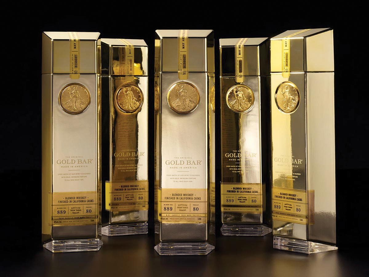Gold Bar Whiskey Launches in Nutmeg and Ocean States