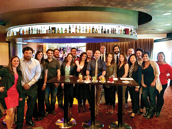 Diageo Hosts Gomez for Cocktail Education Session