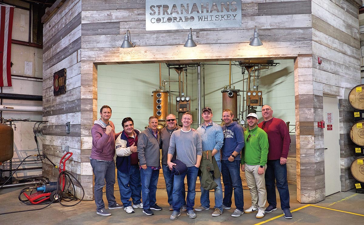 Stranahan's Whiskey Welcomes Local Sales Team to Distillery