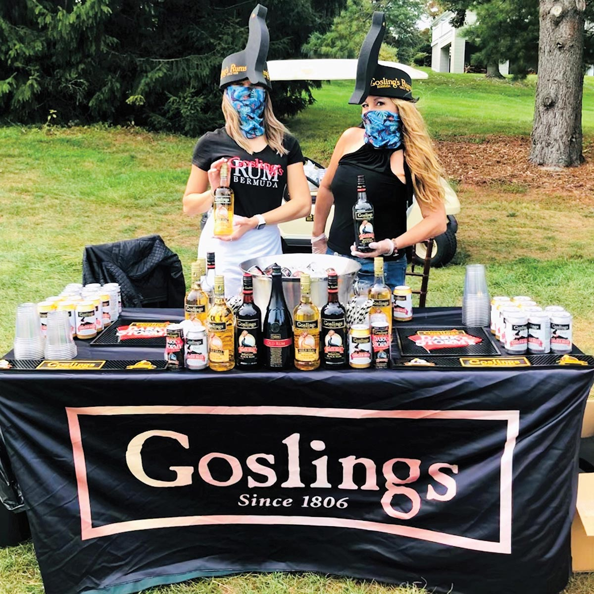 Goslings Rum Showcased at NFL Charity Golf Outing