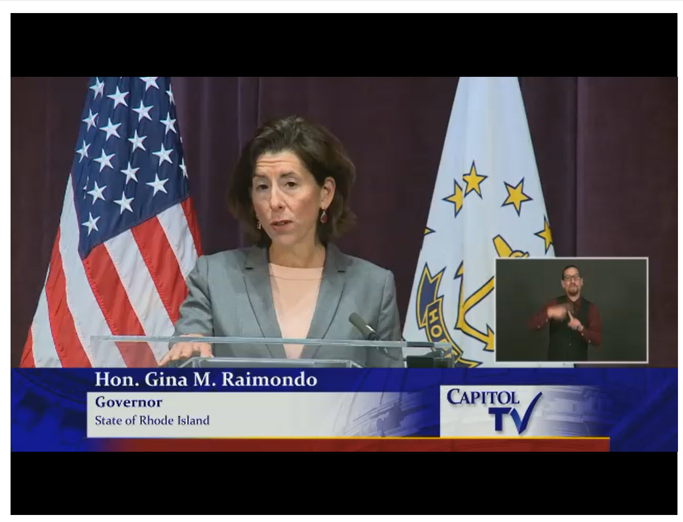Gov. Raimondo Announces New Rhode Island COVID-19 Restrictions
