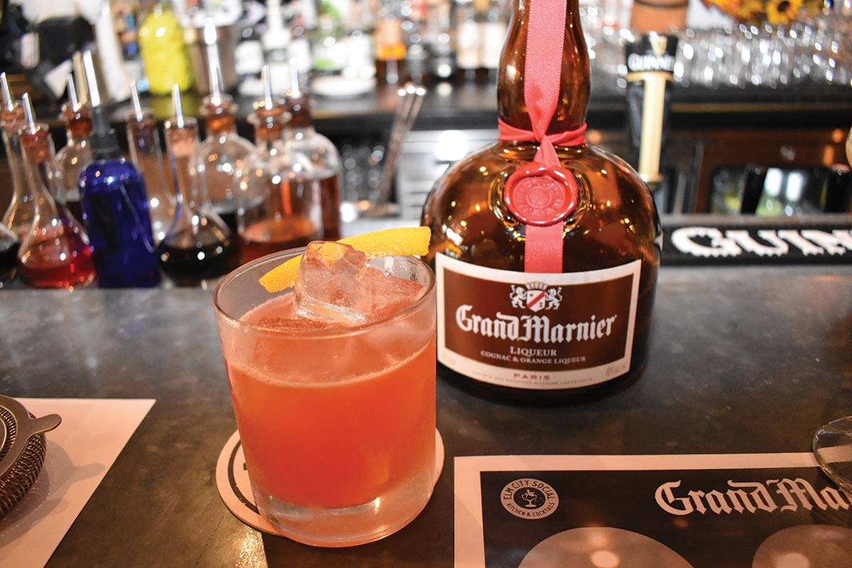 Grand Marnier Hosted in Marquee New Haven Tasting