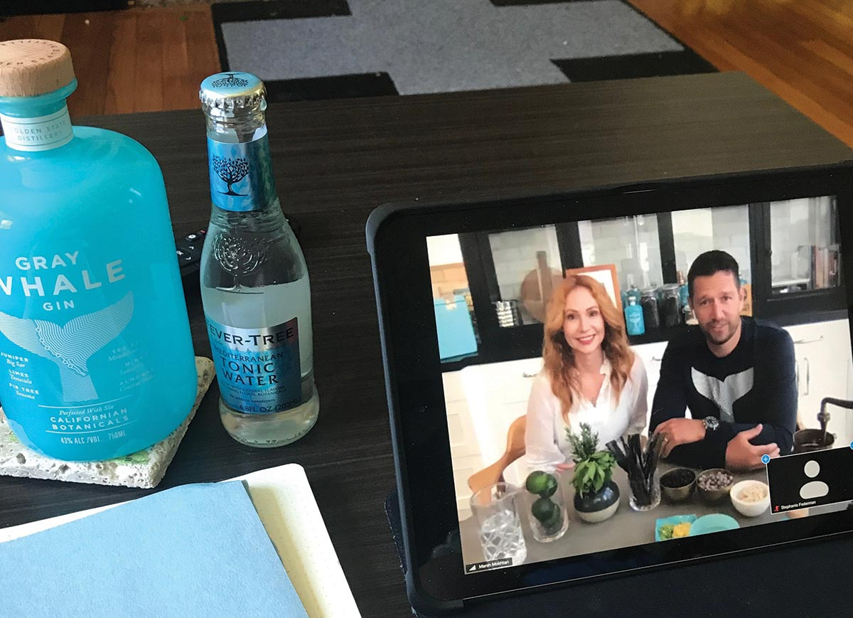 Gray Whale Gin Webinar Showcases Brand for CDI Sales Team