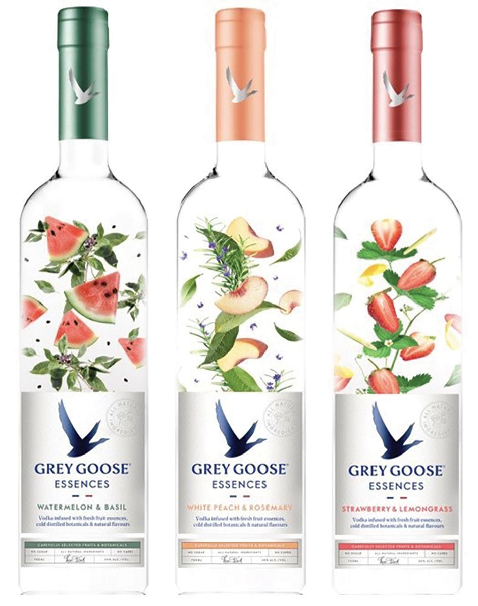 Grey Goose Launches Essences Line of Infused Vodka