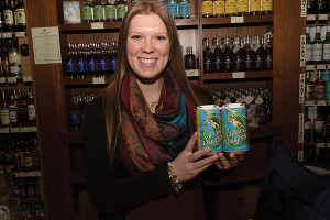 Tasting at Bottles Fine Wine in Providence where Grey Sail's Captains Daughter was presented by Cara Lieffers, Rhode Island and Massachusetts Sales Representative.