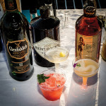 Cocktail creations featuring Glenfiddich, Hendrick's Gin and Sailor Jerry Rum. Photo by Chris Almeida.