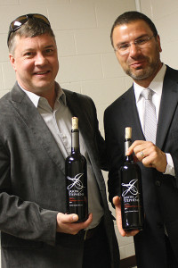 Steven Greenwood, San Francisco Wine Exchange, Regional Manager and Frank LaTorra, Sales Manager at Hartley and Parker.