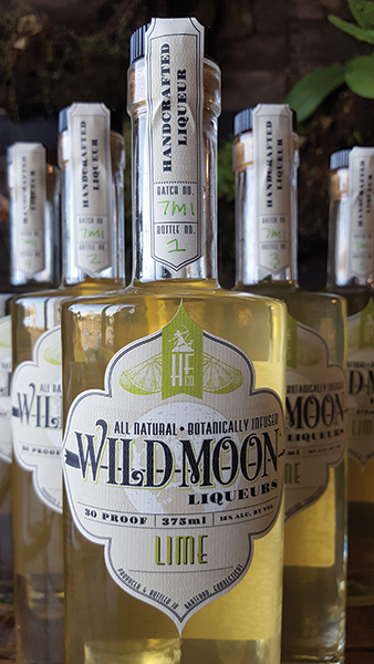 Wild Moon Lime, the newest liqueur in the Hartford Flavor Company Wild Moon portfolio.