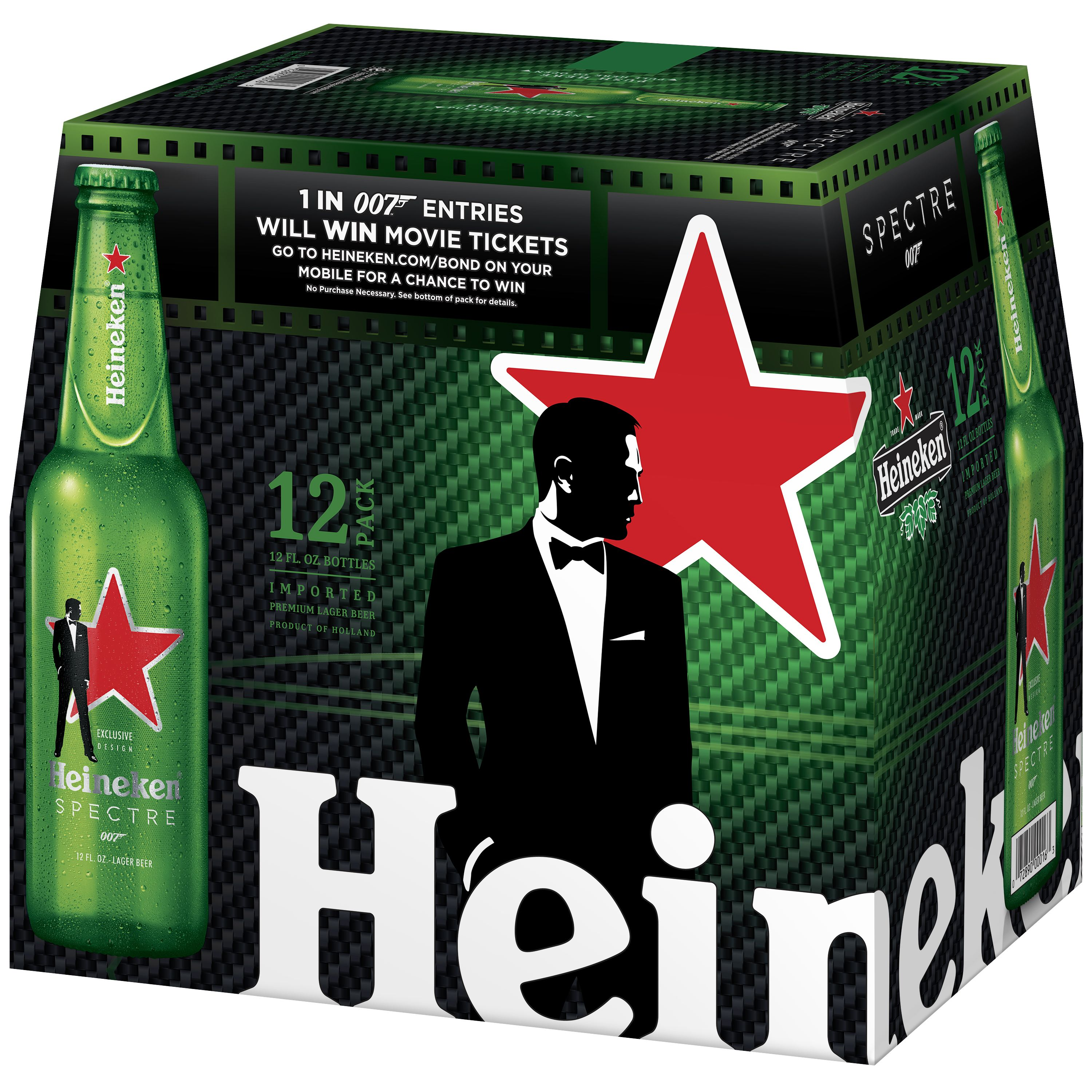 Heineken and The Bond Franchise Team Up Ahead of New Film