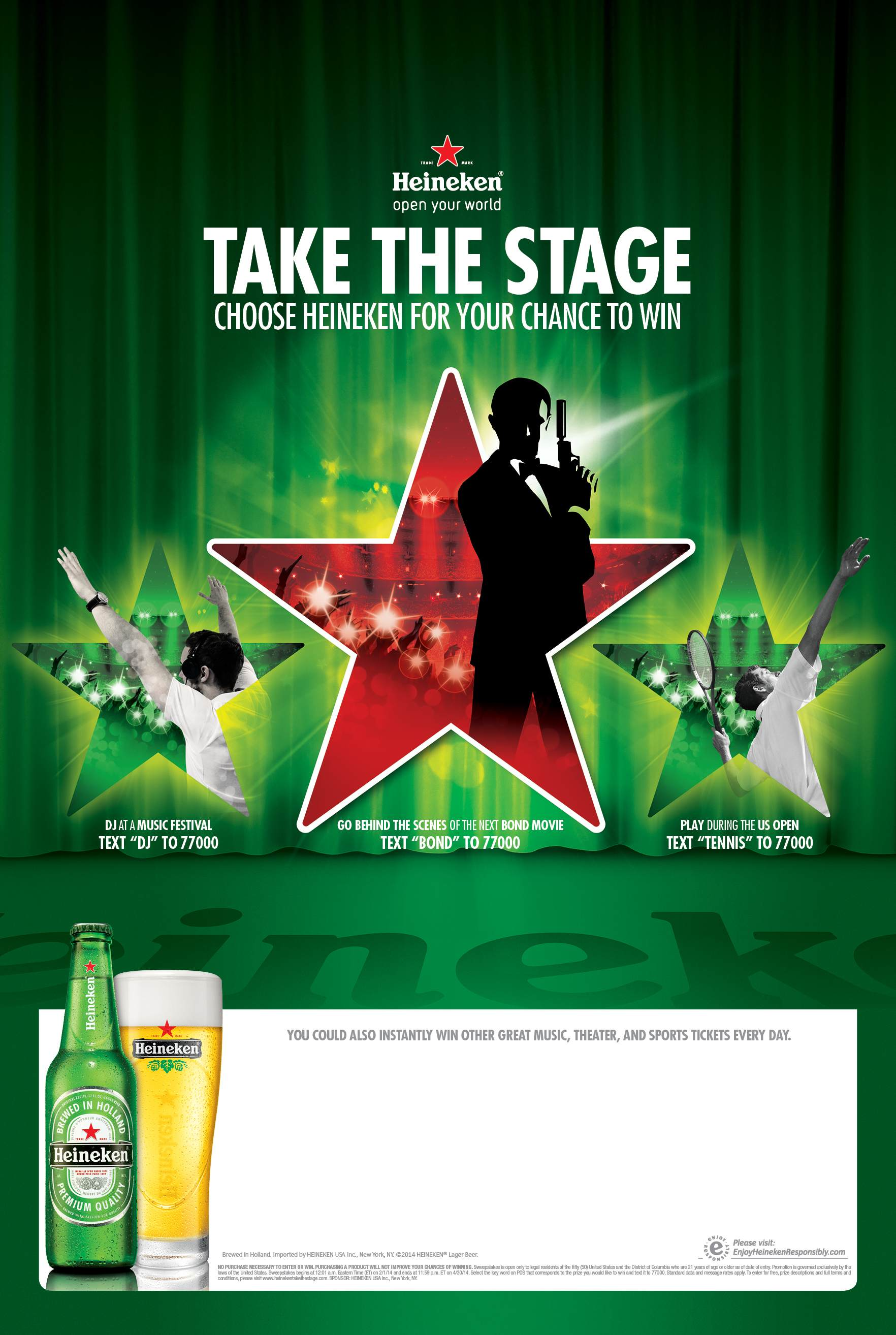 Mail In Rebate Offers >> Heineken's Takes the Stage Campaign Kicks Off | The ...