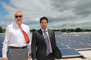 Jerry Rosenberg, President and David Rosenberg, Vice President. In June 2015 solar panels were installed at the facility to reduce the company's carbon footprint.