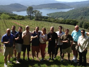HP team in Napa