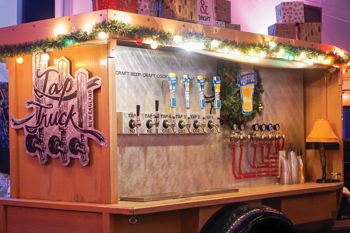 Winter Beer Garden Features Half Full Brewery