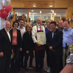 During the first weekend in October, Harry's Wine & Liquor Market held a ribbon cutting and received a plaque citation from the State of Connecticut recognizing its long history in business. First Selectman Mike Tetreau; Rep. Cristin McCarthy Fahey; Scott Pollack, Co-Owner, Harry's Wine & Liquor Market; Rep. Brenda Kupchick; Patrick Monteleone, Co-Owner, Harry's Wine & Liquor Market; Rep. Laura Devlin; Sen. Tony Hwang; William Miller, Co-Owner, Harry's Wine & Liquor Market; Former Senator John McKinney.