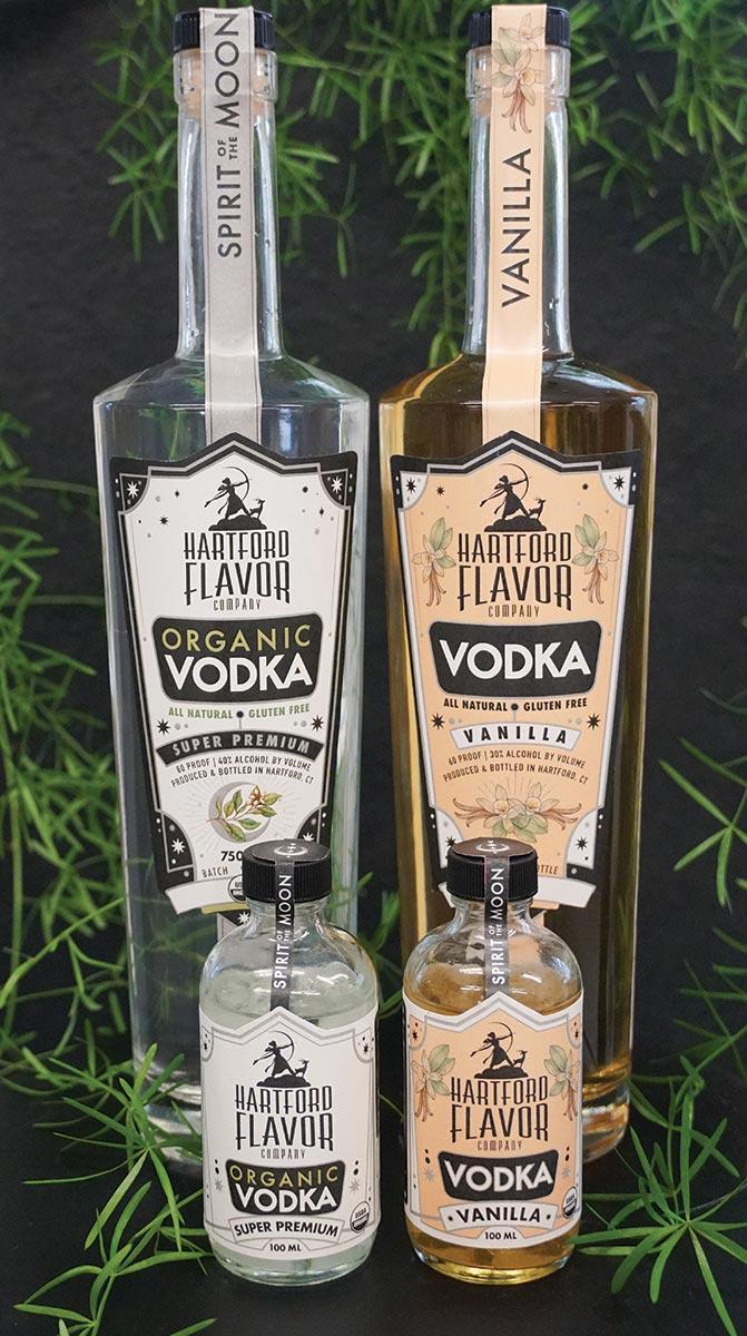 Hartford Flavor Company Releases Organic and Vanilla Vodkas