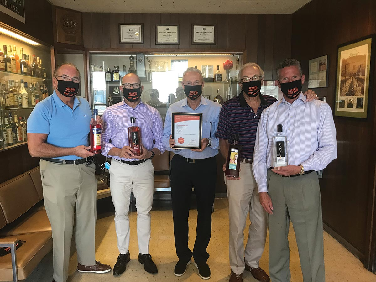 Vincenzi Distillery Recognized for Recent Accolades