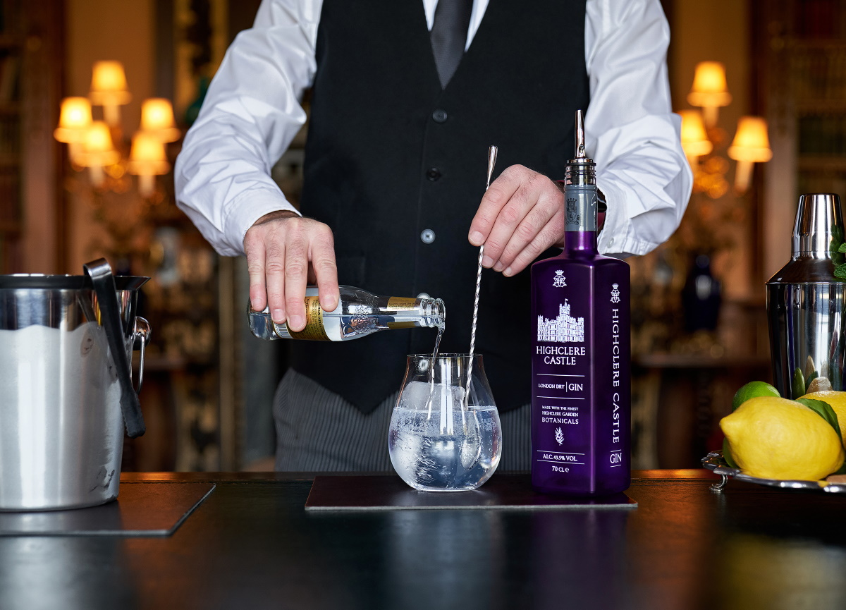 Local Chatter: Cross-Pond Partnership Creates Highclere Castle Gin