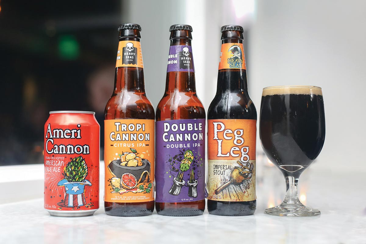 Heavy Seas Beer Showcased at Coast Guard House Dinner