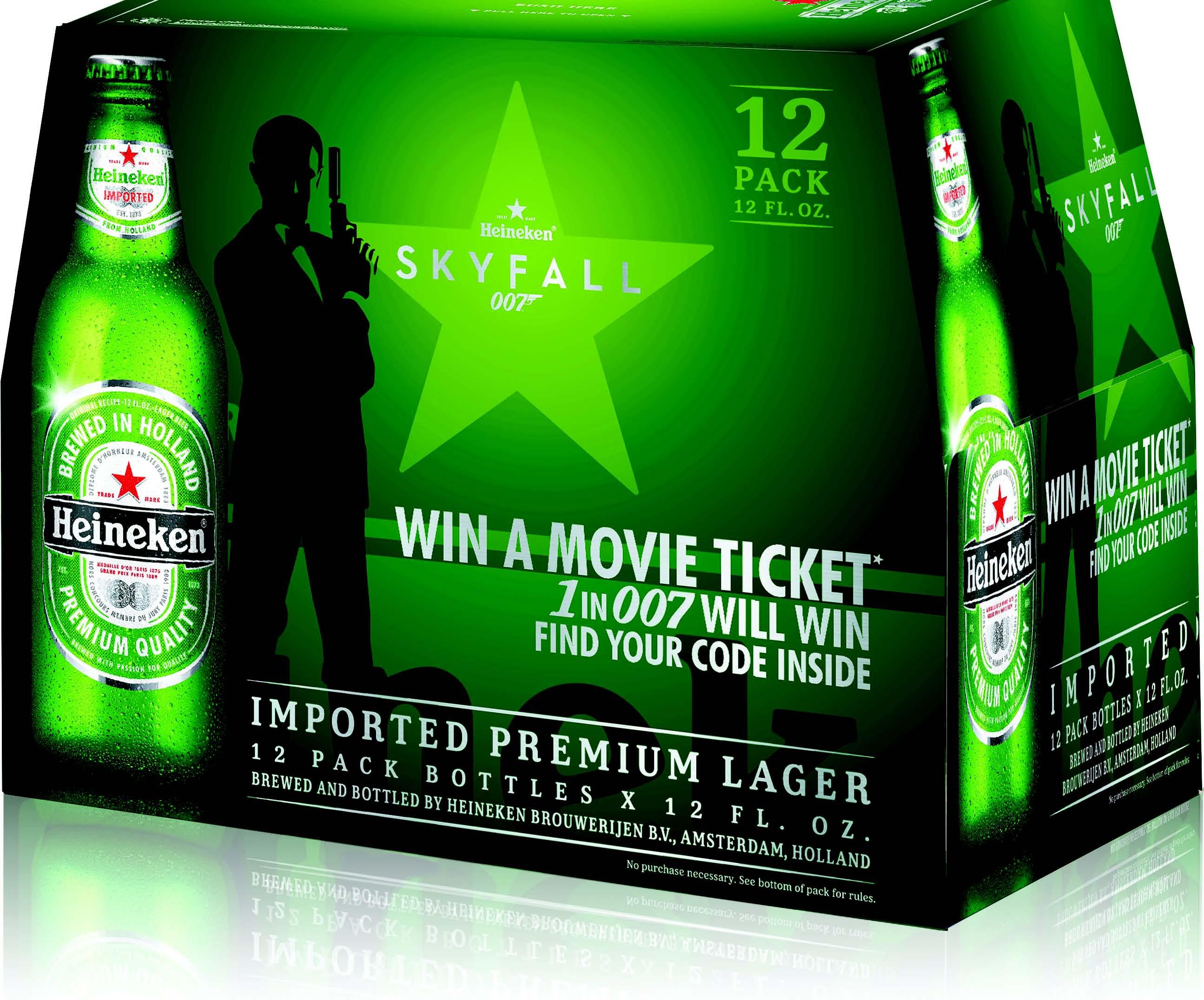 Heineken Lands Skyfall Promo