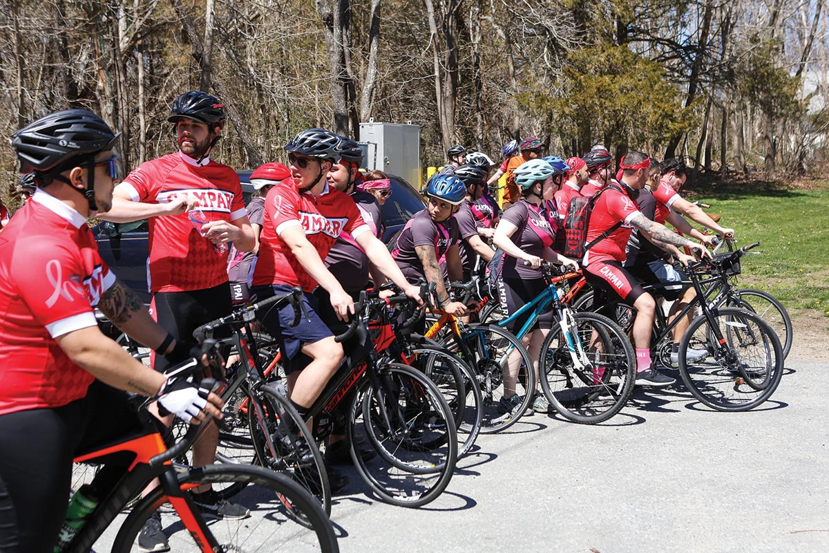 Industry Rallies for Helen David Relief Fundraising Ride