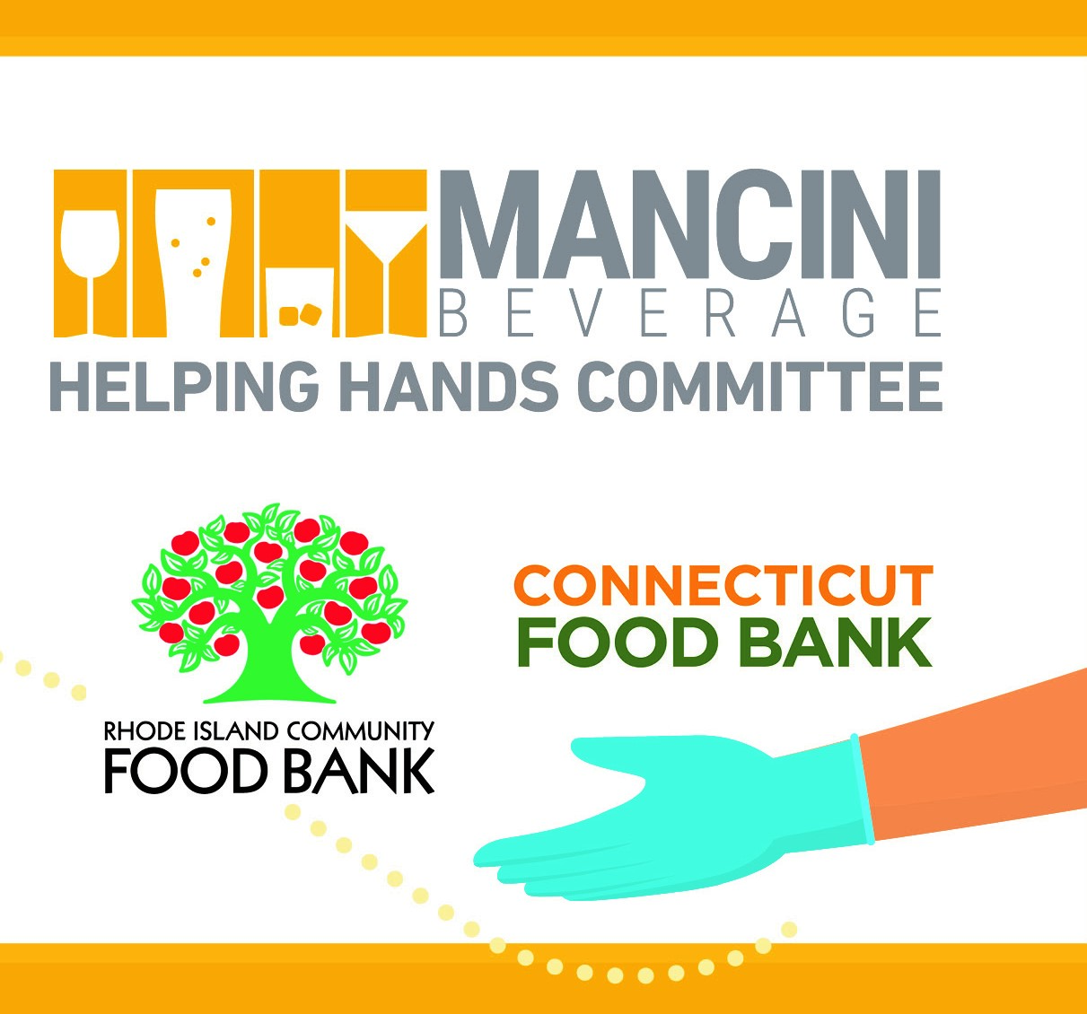 Mancini Beverage Raises Funds for State Food Banks