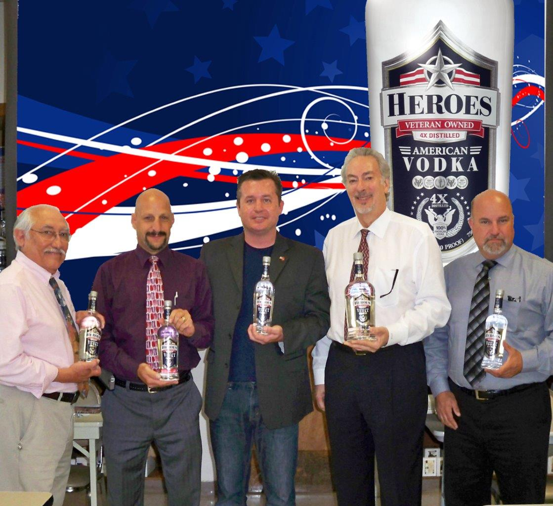 Heroes Vodka Debuts from Hartley and Parker