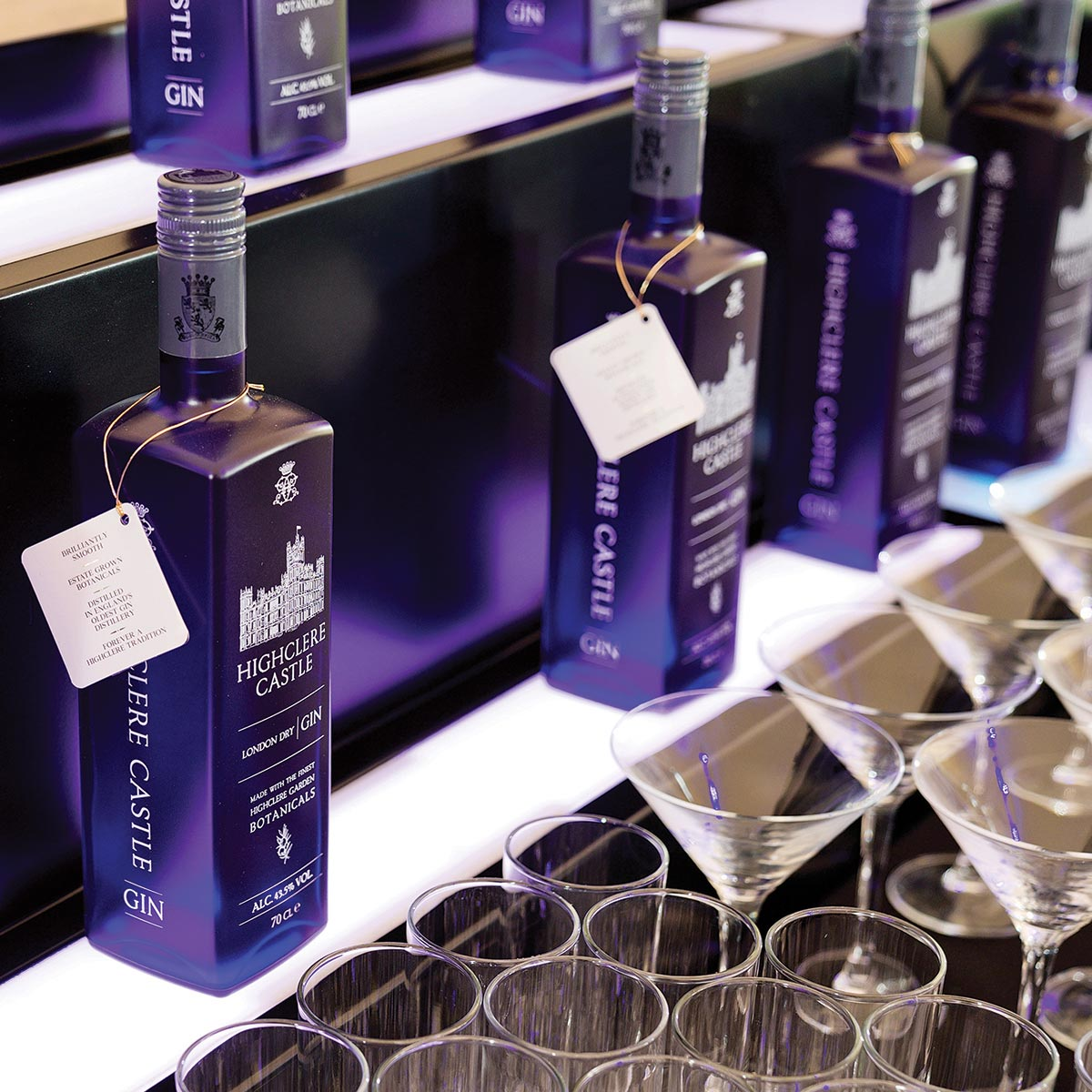 Highclere Castle Spirits' Connecticut Team Celebrates International Launch