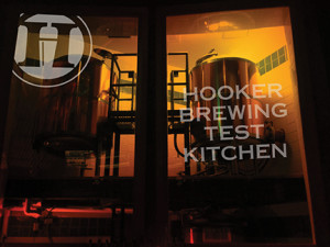 Hooker Brewing System in place.