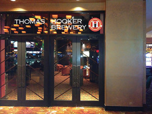 Entrance to the lounge at the new Hooker Test Kitchen