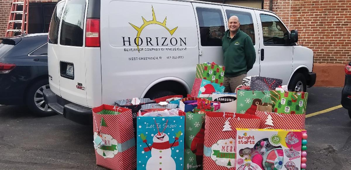 Horizon Beverage Fulfills Annual Holiday Gift Wish Lists
