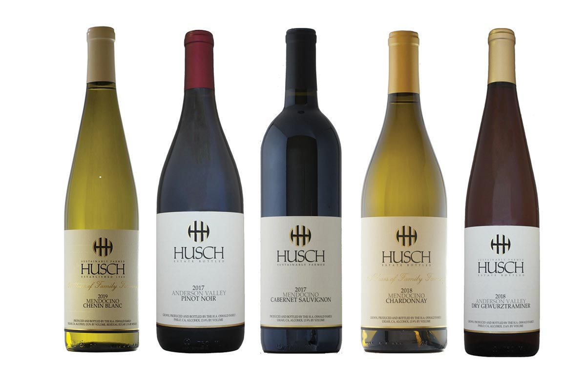 Husch Vineyards Wines Launch in Connecticut