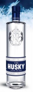 Husky Vodka Bottle