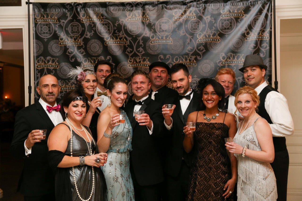 The Great Gatsby Moonshine Ball Features Onyx