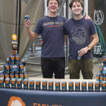 Farmer Willie's Craft Ginger Beer Co-founders Nico Enriquez and Max Easton.