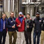 The Narragansett Brewing Company team: Jamie Buscher, Bill Heslam, Mark Hellendrung, Joe O'Neill, Jim Crooks, BJ Mansuetti and Joe Towle.