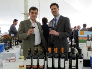 At the Opici Fall Trade Show are Ruca Malen's Pablo Cueno, Winemaker and Roberto Meli, Export Manager.