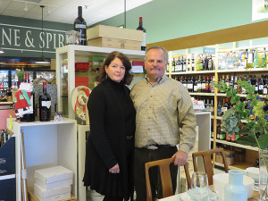 Store owners Cheryl and John Callaghan