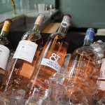 A selection of rosé from France.