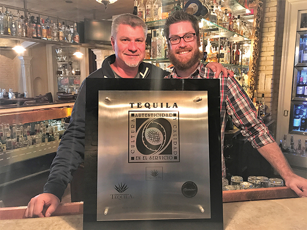 Geronimo Tequila Bar and Southwest Grill Earns CRT Certification