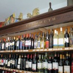 Inside Gleeson's Wine and Spirits.