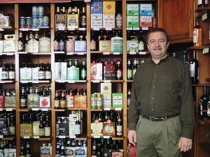 Store owner Tom Saccoccia.