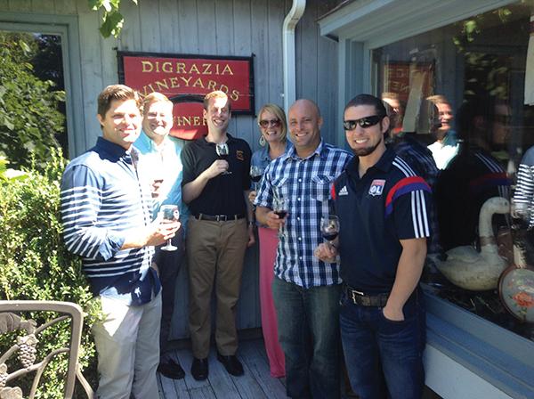 Latitude Sales Team Visits Connecticut Vineyard