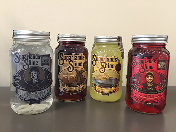 Slocum and Sons Launch Sugarlands Moonshine