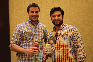 Nick Garrison, President and Founder, Foolproof Brewing Company; Stefano DeAngelis, Sales Manager and Brewer, Foolproof Brewing Company.