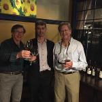Ken Turcotte, Divine Wine Emporium; Tom Belcher, Martin Scott Wines; Bill Zembrowski, Divine Wine Emporium.