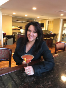"Megan Crooker, Bar Manager, The Library with ""Party in the Library."""