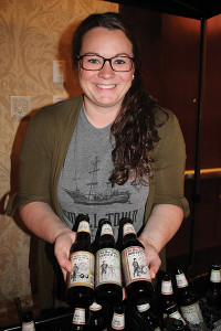 Megan Skinner, Regional Manager, Small Town Brewing.