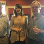 Tom McGrory, Martin Scott Wines; Kristen Mixter, Little River Restoratives; Tryg Mixter, CT Beverage Mart in New Britain.
